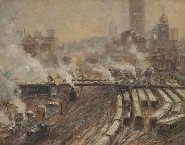 Grand Central Painting - Grand Central by Colin Campbell