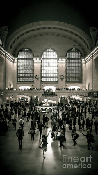 Wall Art - Photograph - Grand Central Dance by Perry Webster