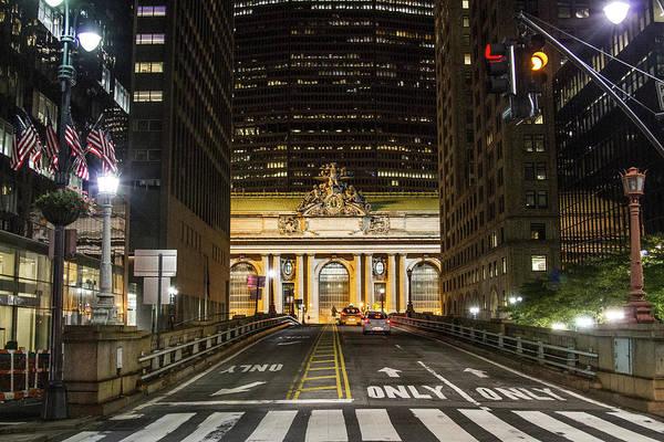 Photograph - Grand Central Nights by Robert J Caputo