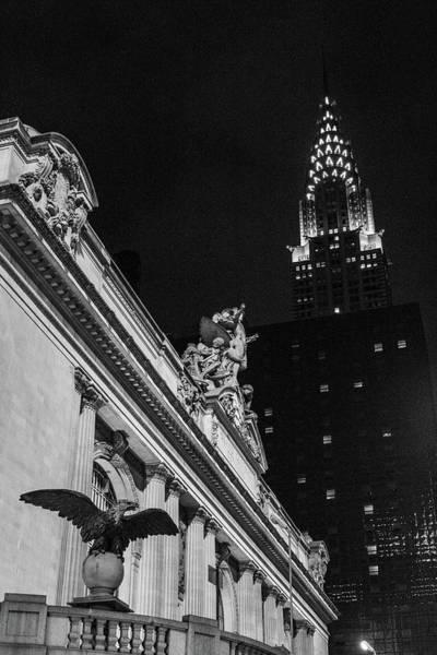 Photograph - Grand Central Niights by Robert J Caputo