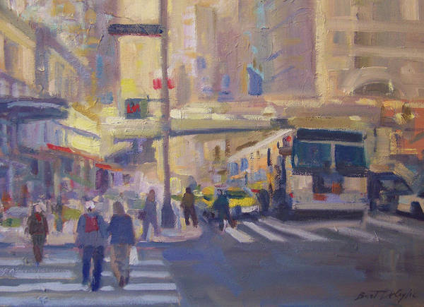 Grand Central Painting - Grand Central Station by Bart DeCeglie