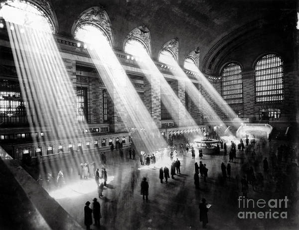 Wall Art - Photograph - Grand Central Station New York City by Jon Neidert