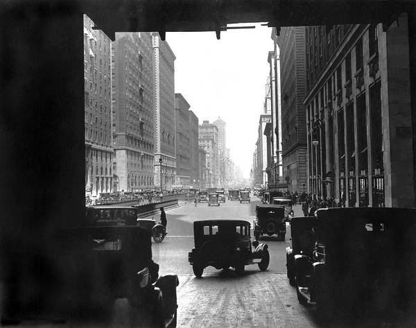 Photograph - Grand Central Station Portal by Underwood Archives