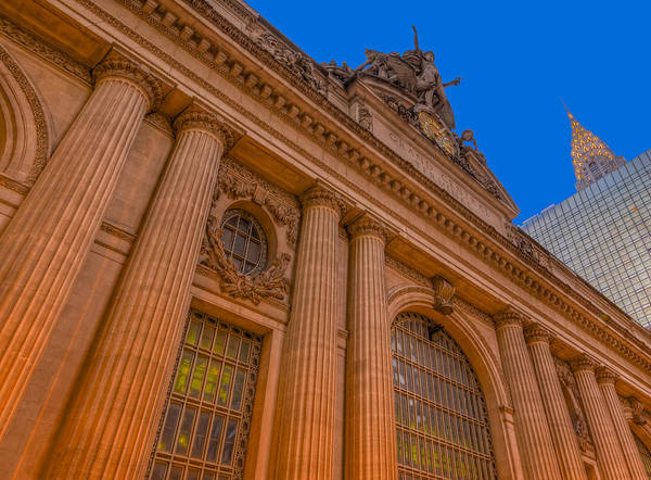 Photograph - Grand Central Terminal - Chrysler Building by Susan Candelario
