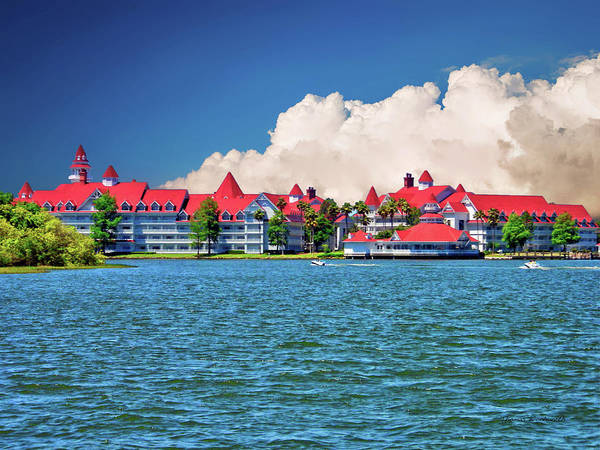 Wall Art - Photograph - Grand Floridian Resort And Spa by Thomas Woolworth