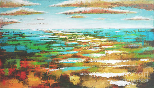 Painting - Grand Full Sea by Kaata Mrachek