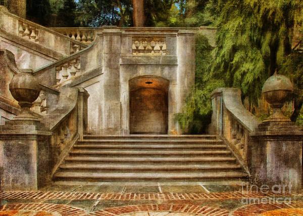 Wall Art - Photograph - Grand Garden Staircase At Winterthur by Lois Bryan