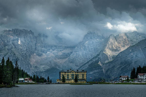 Photograph - Grand Hotel Misurina by Mario Visser