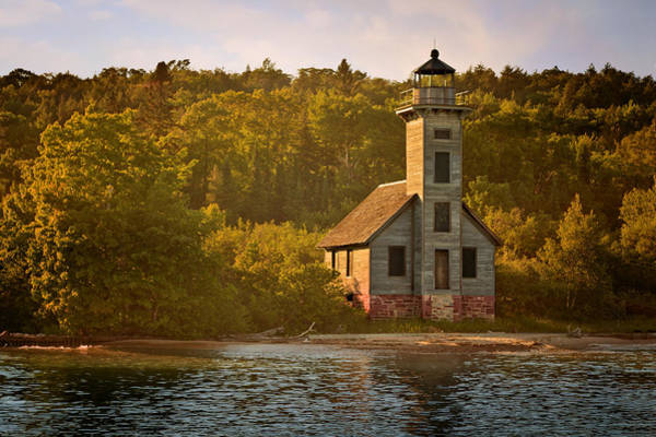 Photograph - Grand Island East Channel Light by Susan Rissi Tregoning