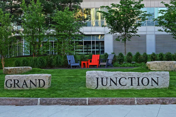 Photograph - Grand Junction Trail Kendall Square Cambridge Ma by Toby McGuire