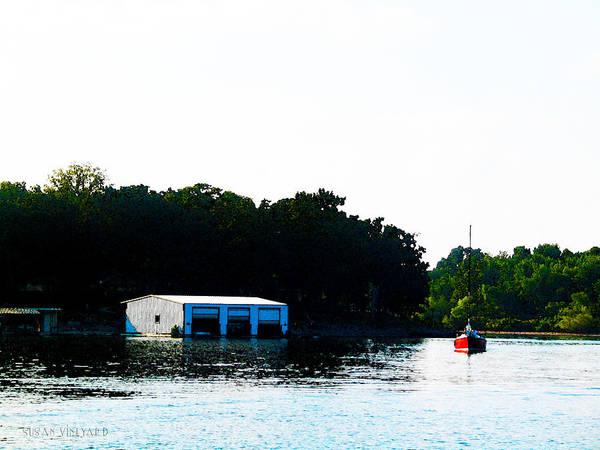 Photograph - Grand Lake Boat Dock by Susan Vineyard