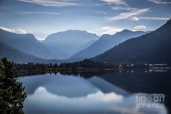 Lake Granby Wall Art - Photograph - Grand Lake Reflections by Lynn Sprowl