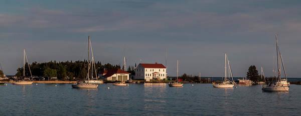 Photograph - Grand Marais Harbor Boats by Patti Deters