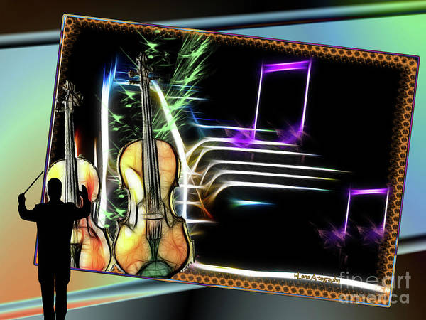 Digital Art - Grand Musicology by Stephen Mitchell
