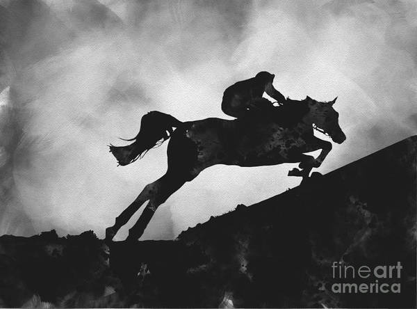 Wall Art - Mixed Media - Grand National by My Inspiration