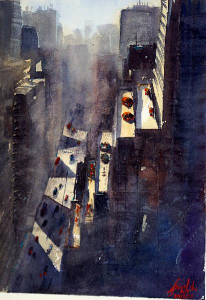 Wall Art - Painting - Grand New York by James Nyika