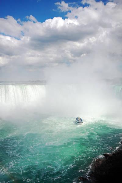 The Maid Photograph - Grand Niagara Falls by Charline Xia