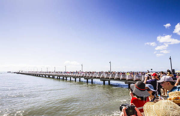 Photograph - Grand Opening Event. Shorncliffe Pier 2016 by Jorgo Photography - Wall Art Gallery