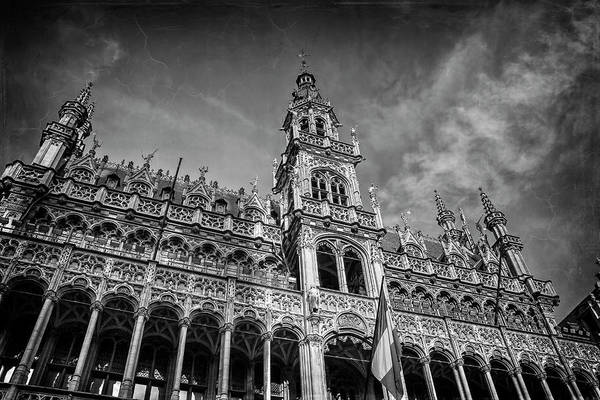 Maison Photograph - Grand Place Architecture Brussels  by Carol Japp