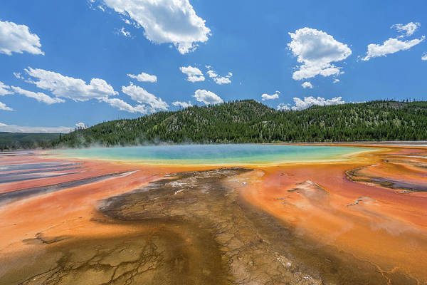 Photograph - Grand Prismatic by Alpha Wanderlust