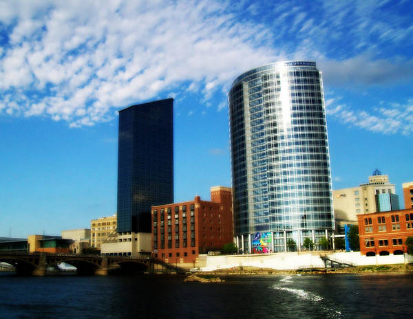Photograph - Grand Rapids Michigan Is Grand by Michelle Calkins