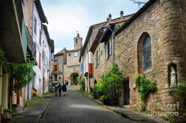 Wall Art - Photograph - Grand Rue De L'horlogue In Cordes Sur Ciel by RicardMN Photography