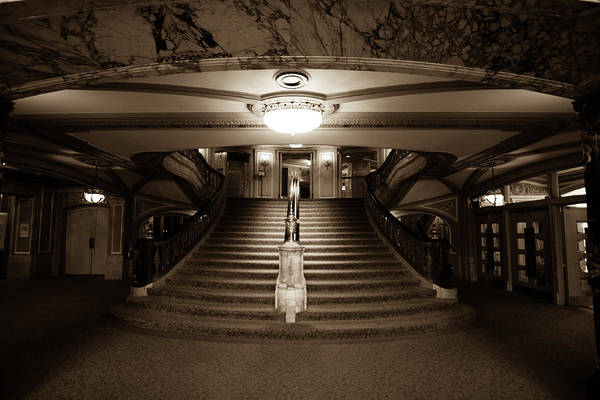 Photograph - Grand Stairs by Sue Conwell