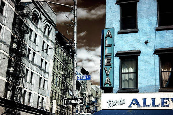 Photograph - Grand Street Infrared by John Rizzuto