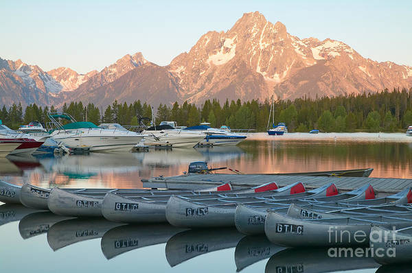 Photograph - Grand Teton Dawn IIi by Clarence Holmes