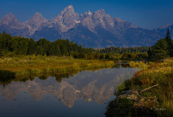 Photograph - Grand Teton Morning by Tim Bryan