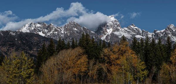 Wall Art - Photograph - Grand Teton Mountain Range by Paul Freidlund