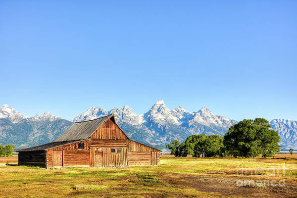 Wall Art - Photograph - Grand Teton Mountains by Paul Quinn