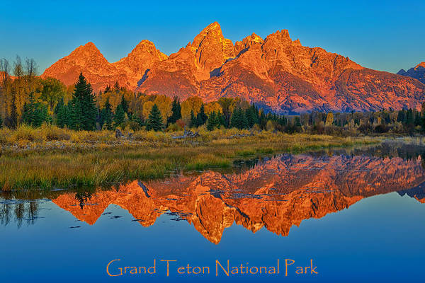 Photograph - Grand Teton National Park Poster by Greg Norrell