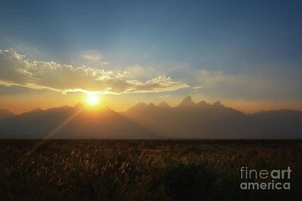 Wall Art - Photograph - Grand Teton Open Plains Sunset by Michael Ver Sprill