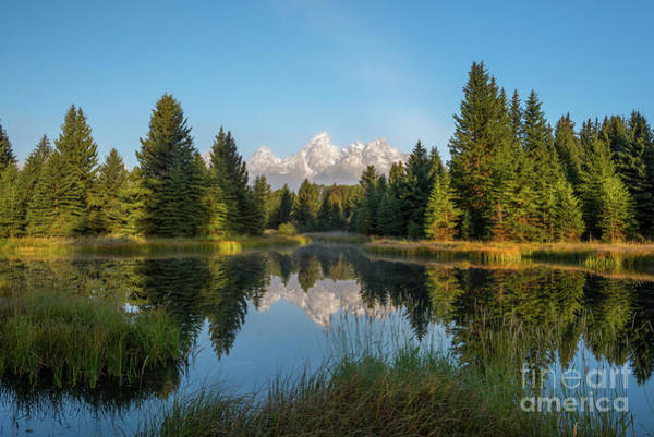 Schwabacher Photograph - Grand Teton Sunrise by Paul Quinn