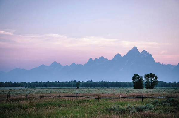 Photograph - Grand Teton Sunset by Margaret Pitcher