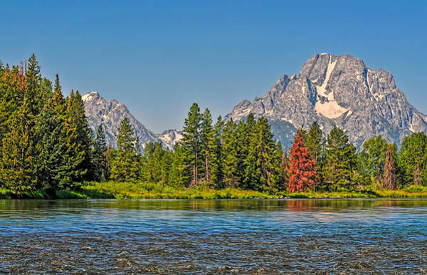 Photograph - Grand Tetons And Snake River by Ginger Wakem