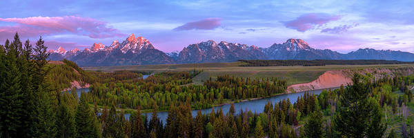 Rockies Wall Art - Photograph - Grand Tetons by Chad Dutson