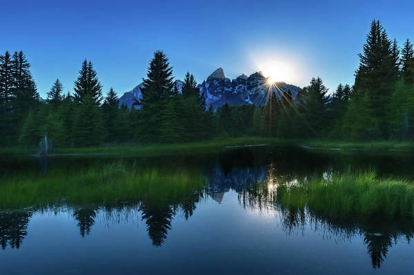 Photograph - Grand Tetons by Harold Coleman