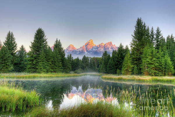 Schwabacher Photograph - Grand Tetons Sunrise 2 by Paul Quinn