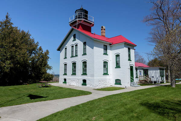 Photograph - Grand Traverse Light-1 by Fran Riley