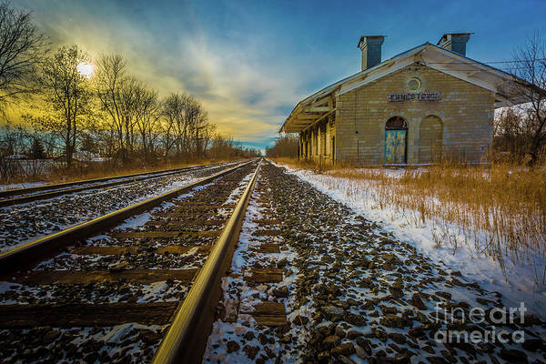 Photograph - Grand Trunk Station  by Roger Monahan