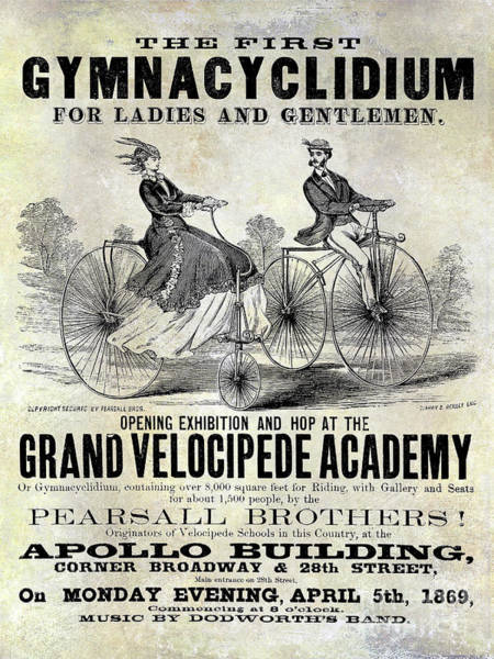 Wall Art - Photograph - Grand Velocipede Academy by Jon Neidert