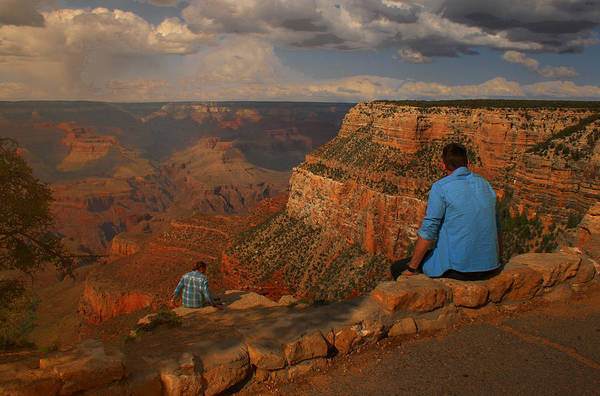 Photograph - Grand View Of The Grand Canyon by Ola Allen