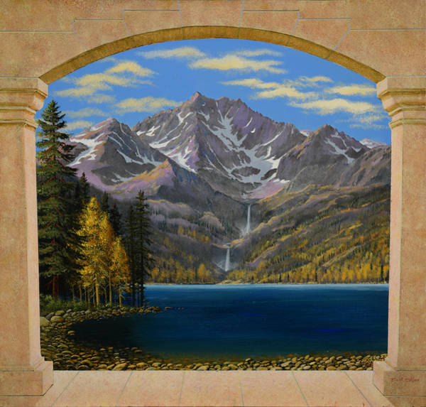 Painting - Grand Vista Mural Sketch by Frank Wilson