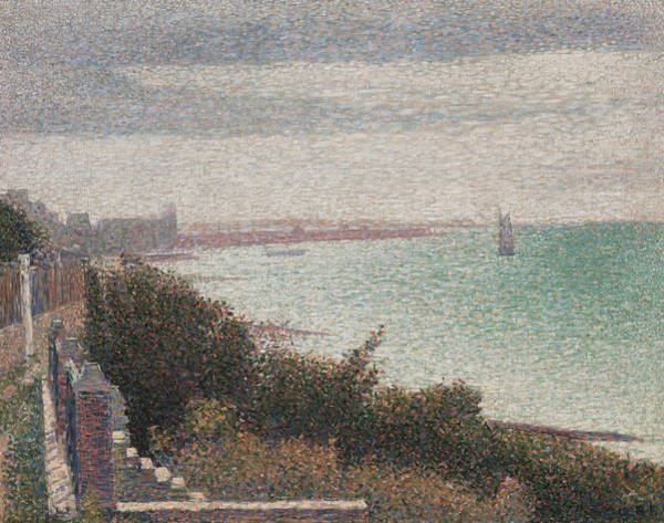 Painting - Grandcamp Evening by Georges-Pierre Seurat
