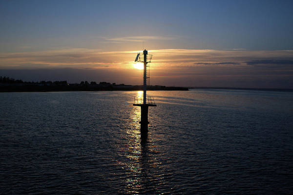 Photograph - Grandcamp Harbour, Normandy, France by Aidan Moran