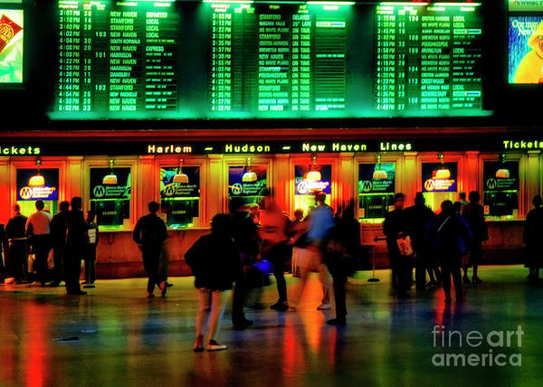 Photograph - Grand Central Station Nyc by Tom Jelen