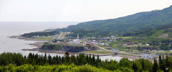 Photograph - Grande Vallee Quebec by John Meader