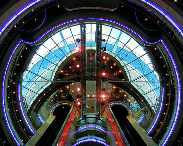 Photograph - Grandeur Of The Seas Purple Centrum by Bill Swartwout Photography